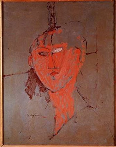 The Red Head Poster Print by Amedeo Modigliani (8 x 10)