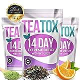 Kedus 100% Pure Natural Detox 14 Days Colon Cleanse Fat Burn Weight Loss
