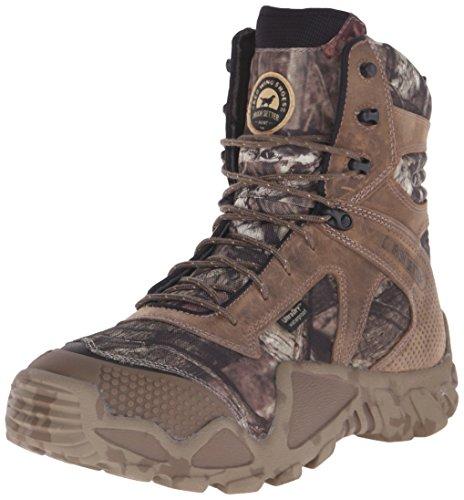 """Irish Setter Men's 2868 Vaprtrek Waterproof 8"""" Hunting Boot, Mossy Oak Break Up Infinity Camouflage,14 EE US"""