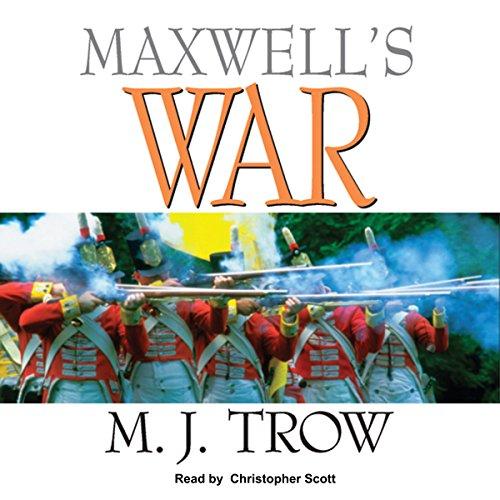 Maxwell's War audiobook cover art