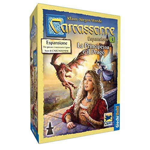 Giochi Uniti Carcassonne 4 - La Princesa y el dragón (en Italiano)