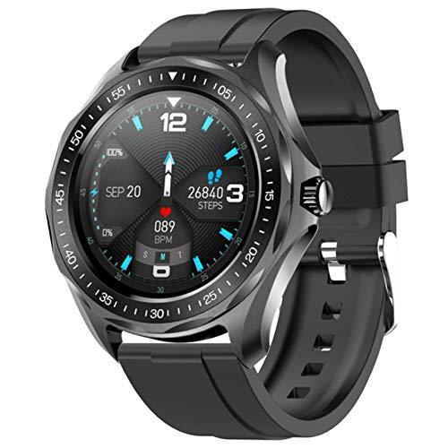 ZWW S09Plusip68 wasserdichte Smart Uhr Herzfrequenz Blutdruckmessgerät Wetter Smart Watch Fashion Fitness Tracker Uhr,A