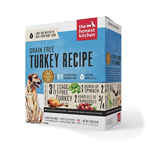 The Honest Kitchen Human Grade Grain Free Dog Food $19.99 (20% OFF Sale)