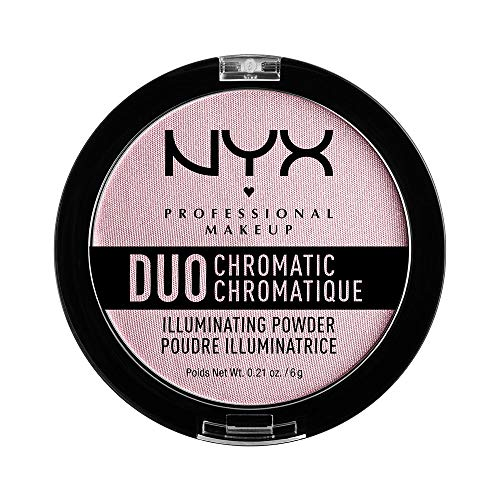 10. NYX Professional Makeup Duo Chromatic Illuminating Powder