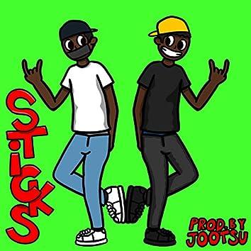 Sticks! (feat. 14vvs)