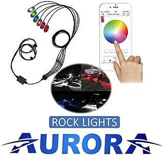 Aurora - 6 Piece Multi Color LED Rock Light Kit