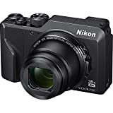 Nikon 26527B Coolpix A1000 16MP 35x Optical Zoom 4K Compact Digital Camera - (Renewed)