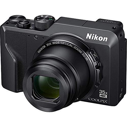 Nikon 26527B Coolpix A1000 16MP 35x Optical Zoom 4K Compact Digital Camera - (Renewed)
