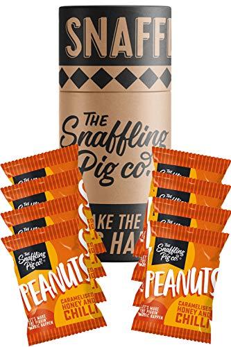 Snaffling Pig Sharing Nuts Snaffle Tubes (Chilli Nuts)