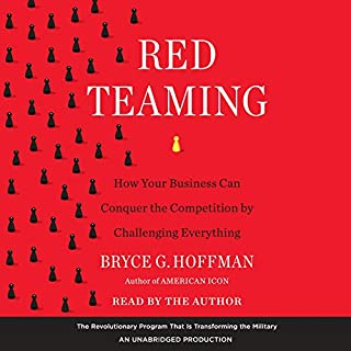 Red Teaming audiobook cover art