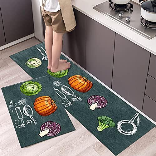 Felpudos de Estilo Minimalista de Moda alfombras de Piso de Cocina Alfombra de hogar felpudos de Tira Larga decoración Moderna del hogar NO.8 40X120cm