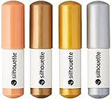 Silhouette Sketch Pens 4/Pkg-Metallic by Silhouette America