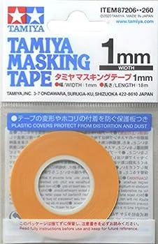 TAMIYA America Inc Masking Tape 1mm TAM87206