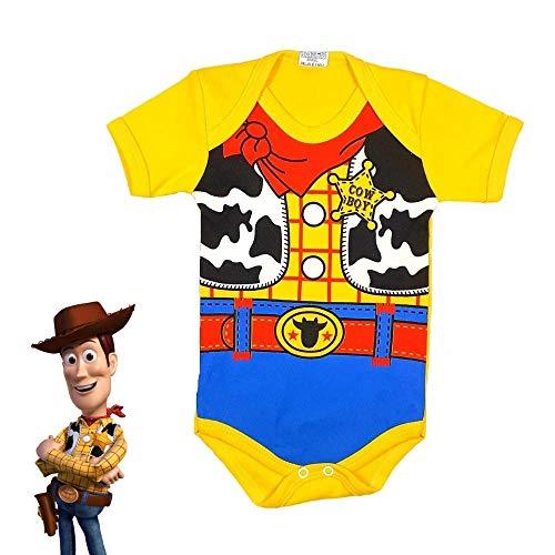 Body Bebe Mesversário Lindo Bodie Woody Toy Story Temático Envio Imediato (P)