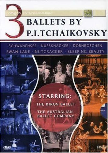 3 Ballets Max 67% OFF Outlet SALE by P.I. Tchaikovsky