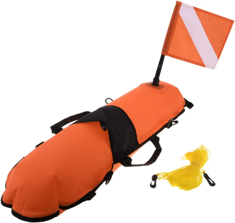 simhoa Scuba Marker Nashville-Davidson Mall Dive Floating Mat Flag Rope with Sale price Divin for