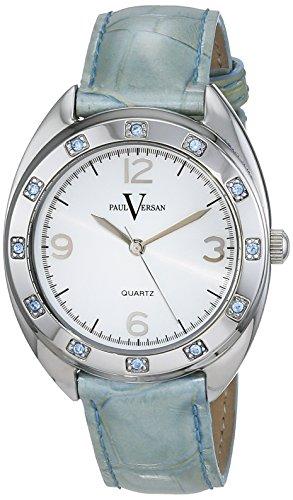 Paul Versan Reloj Análogo clásico para Mujer de Cuarzo con Correa en Cuero PV6901