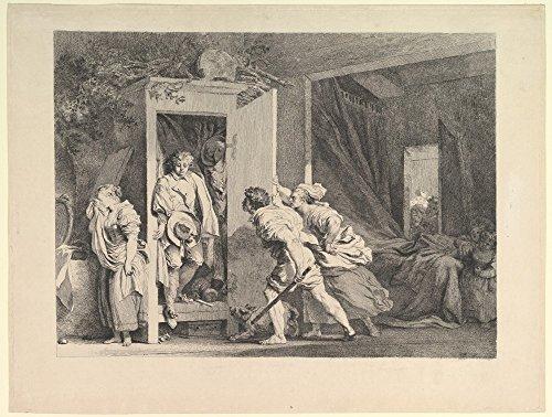 Das Museum Outlet–Den Kleiderschrank (1778)–Leinwand Print Online kaufen (101,6x 127cm)
