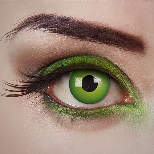 aricona Kontaktlinsen Tageslinsen - Magic Green - farbige Kontaktlinsen - Grün