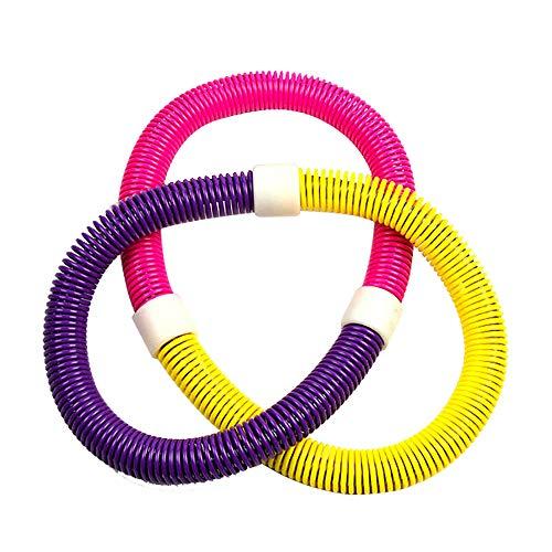 Great Features Of TOMYEUS Smart Hoola Kids Exercise Equipment Spring Hoola Hoop Weighted Hoola Hoops...