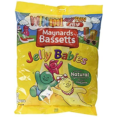 maynards bassetts jelly babies sweets bag, 400 g Maynards Bassetts Jelly Babies Sweets Bag, 400 g 51v4ZIYueEL