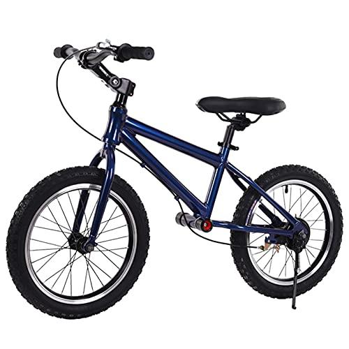 ERLAN Bicicletas sin Pedales Bicicleta de Equilibrio Deportiva con Ruedas de Goma de 16 Pulgadas, Sin Bicicleta de Pedales para 6/7/8/9/10/12/15 Años, Mango de Entrenamiento y Asiento Ajustable