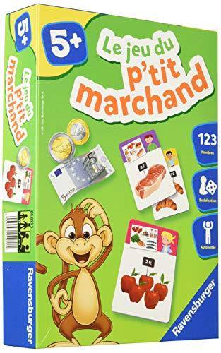 Ravensburger- Jeu Educatif- Le jeu du p'tit marchand- Apprendre à compter- A partir de 5 ans- 24071