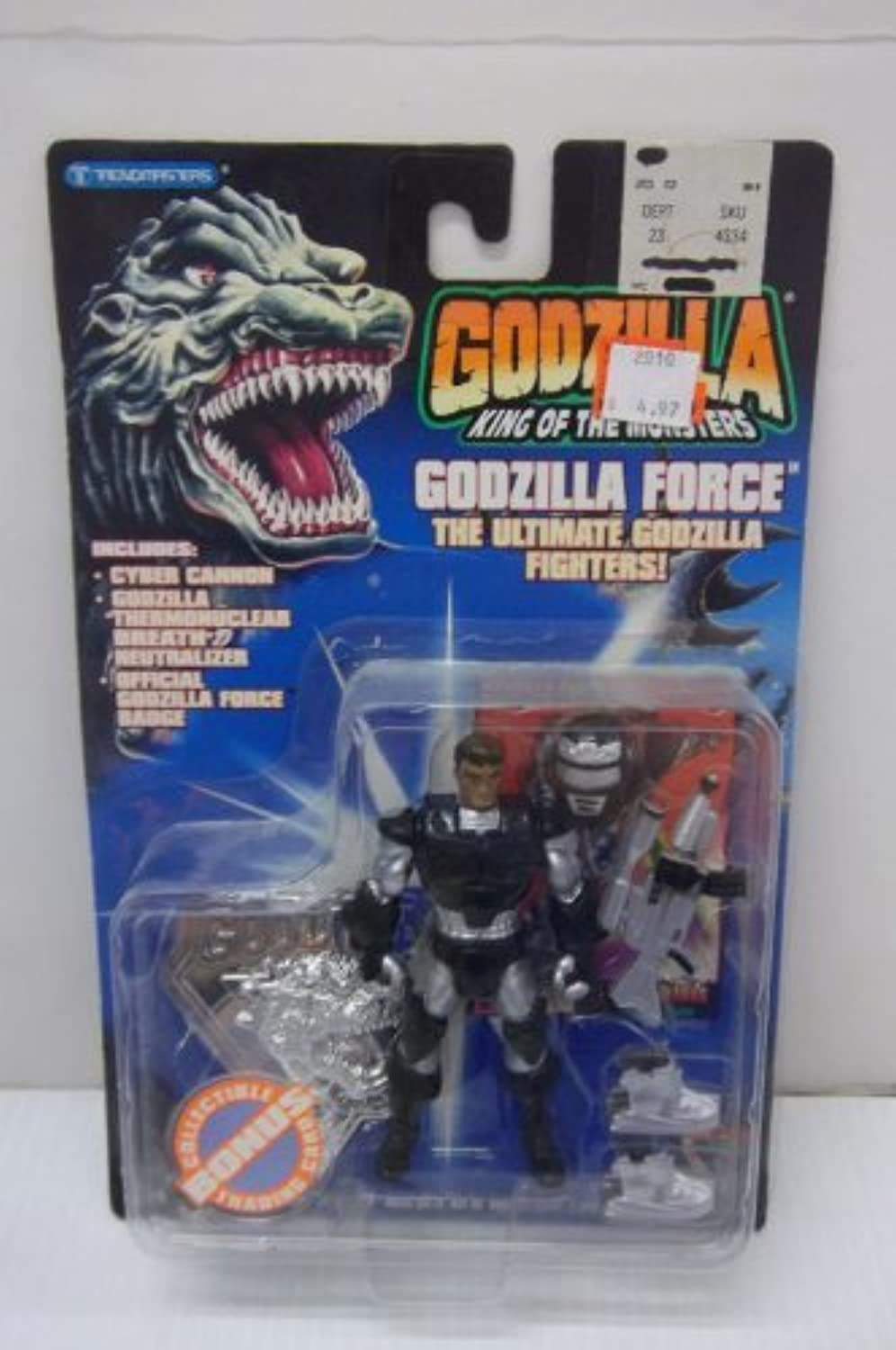 Godzilla Force Pete Richards Action Figure Fleet Leader by Trendmasters