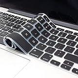 OJOS TPU Cover Ultra Thin Keyboard Skin for MacBook Air 13' (Black)