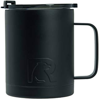 RTIC Double Wall Vacuum Insulated 12oz Coffee Cup, Matte Navy