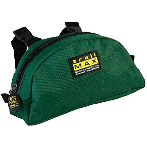 Trailmax Bolsa para borrén delantero - Equipaje para silla vaquera de cowboy - Verde