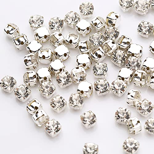 Loveu 1440 garras de cristal brillantes para manualidades, ropa, vestido de boda,...