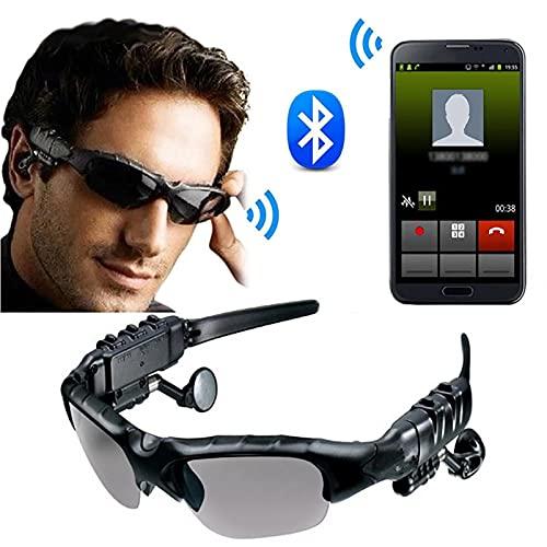 Gafas De Sol Inteligentes Bluetooth, Música Handshree Headset Headset Globos Con Protección Polarizada Lentes De Seguridad Unisex Diseño Deporte,Tiempo De Trabajo 3-6 Horas,Para Conducir Ciclismo
