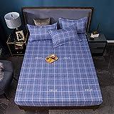 Nuoxuan Cajón para Colchón Extra Alto,Ropa de Cama de Moda cepillada, Dormitorio de apartamento Individual Doble tamaño...