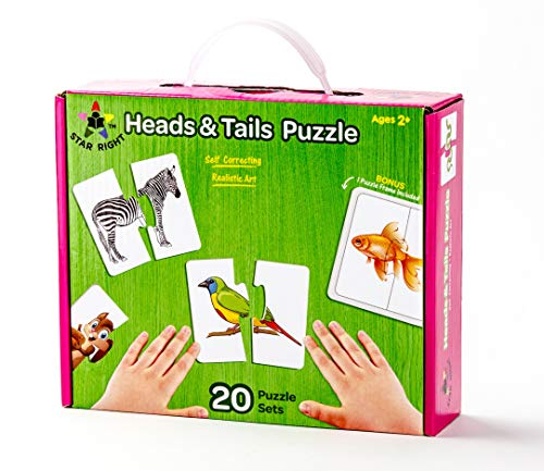 Star Right Self-Correcting Head & Tails Puzzle