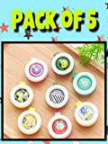 THE LITTLE LOOKERS® Kids Safe Reusable Mosquito Repellent Badge, Sticker for Outdoor