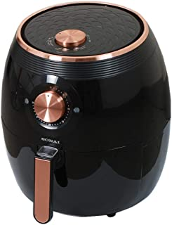 Sonai SH-411 Super Air Fryer, 5.5 Liters - Black