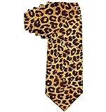 Cravate en polyester à motif léopard pour animaux