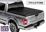 Gator ETX Soft Tri-Fold Truck Bed Tonneau Cover | 59313 | Fits 2015 - 2020 Ford F-150 6' 5' Bed | Made in the USA