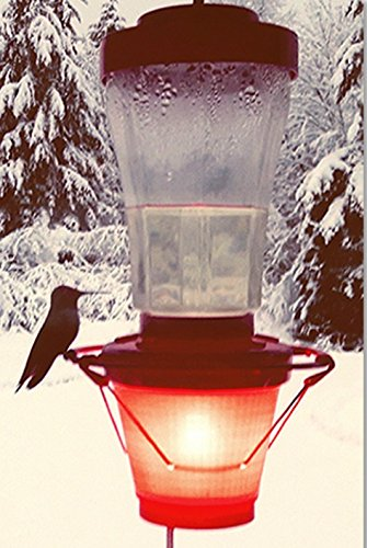 Hummer Hearth Hummingbird Feeder Heater, Made in The U.S.A. (Feeder NOT Included)