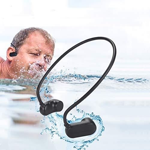 Natación Reproductor de MP3 Bluetooth 5.0 Conducción ósea Auriculares Bluetooth IPX8 Impermeable 8G Memoria Auriculares inalámbricos Deportivos