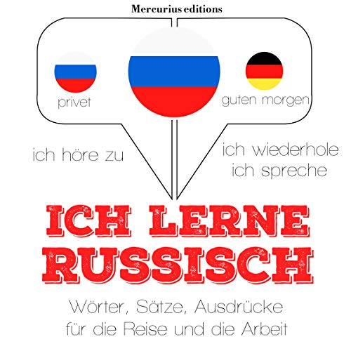 Ich lerne Russisch audiobook cover art