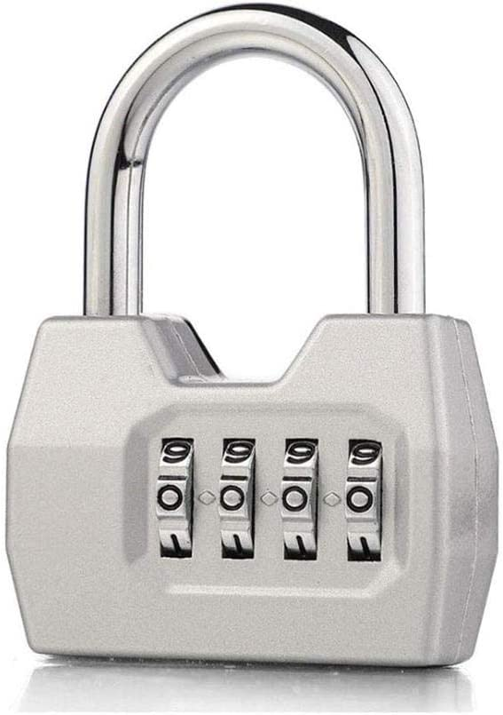 Gym Locker Lock Opening large release Outlet ☆ Free Shipping sale 4-Digit Password Padlock and Buckle Heav Fence