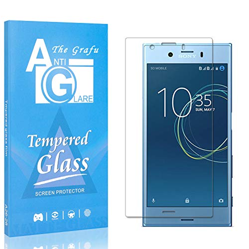 Buy Bargain The Grafu Screen Protector for Sony Xperia XZ1 Compact, 9H Hardness Tempered Glass, Bubb...