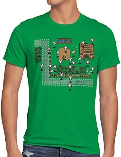 style3 Zelda Retro Gamer Camiseta para Hombre T-Shirt