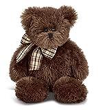 Bearington Bosco Chocolate Brown Plush Stuffed Animal Teddy Bear, 16 inches