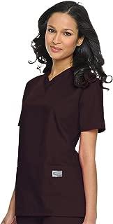 Scrub Zone Women's Professional Comfortable & Durable 3-Pocket V-Neck Scrub Top