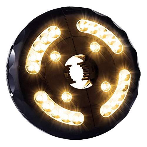 Tienda De Campaña Al Aire Libre USB Luces Luz Parasol Excentrico Luces para Sombrillas Exterior para Linterna Playa Jardín Patio Lámpara De Luz De Paraguas,WarmWhite