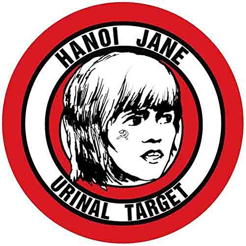 Hanoi Jane Urinal Target Decal Retro Vintage Decal Sticker Souvenir Skateboard Laptop