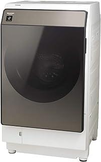 シャープ 洗濯機 ES-WS13-TR ドラム式 ヒートポンプ乾燥 右開き(ヒンジ右) DDインバーター搭載 洗剤自動投入 ブラウン 洗濯11kg/乾燥6kg 幅640mm 奥行727mm